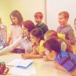 小学校 学習風景